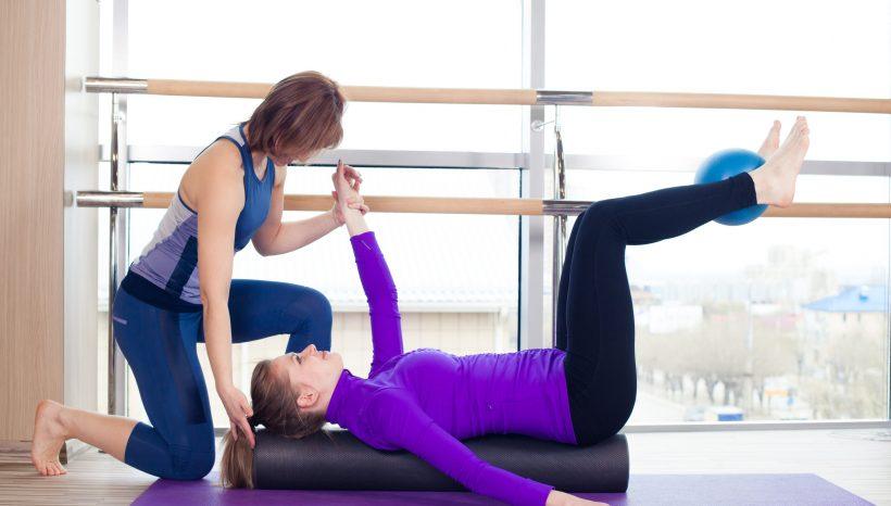Ejercicio de Pilates: La Estabilización escapular